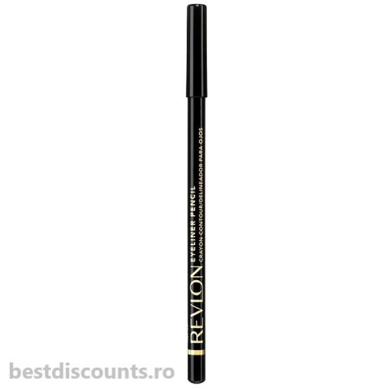 Creion Dermatograf Revlon Eyeliner Pencil 01 Black