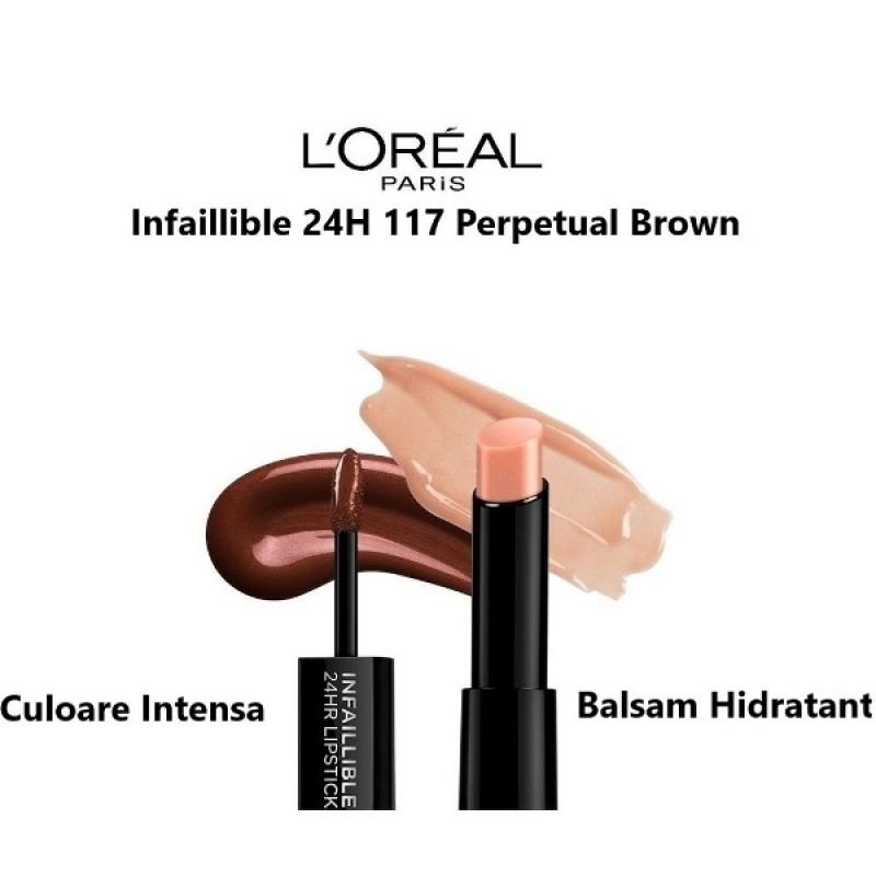 Infaillible 24H 117 Perpetual Brown L'Oreal Paris