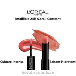 Infaillible 24H 404 Corail Constant L'Oreal Paris