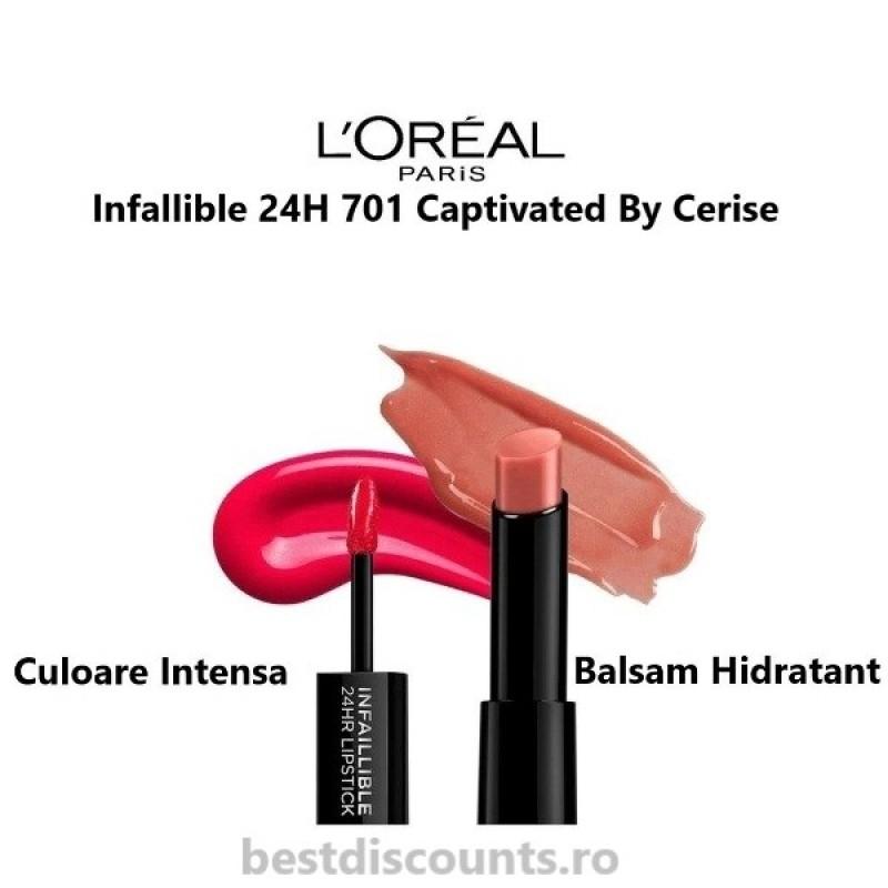 Infaillible 24H 701 Captivated By Cerise L'Oreal Paris