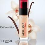 Infaillible 120 Vanilla - Vanille L'Oreal Paris