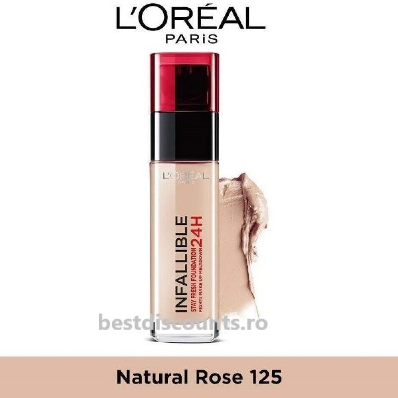 Infaillible 125 Naturel Rose - Natural Rose L'Oreal