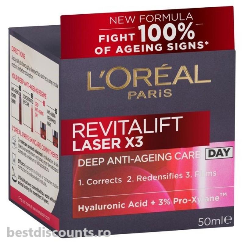 Loreal Revitalift Laser X3 Crema Zi