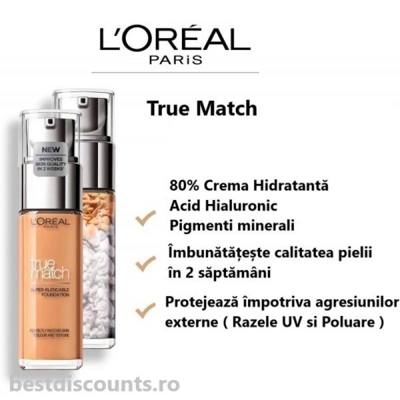 True Match 3N Beige Creme - Creamy Beige L'Oreal