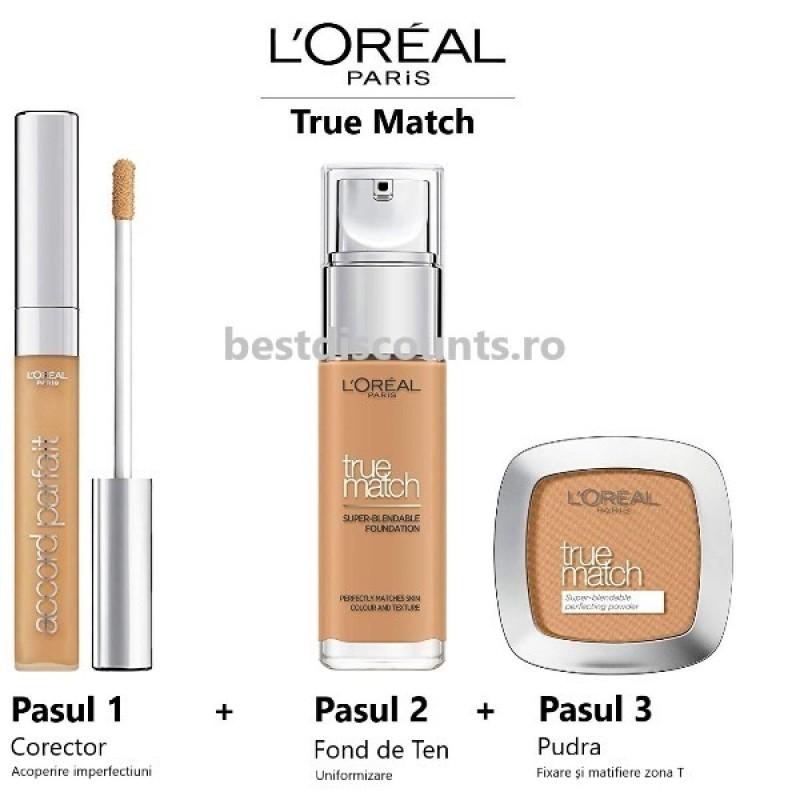 True Match 3D - 3W Beige Dore - Golden Beige L'Oreal Paris