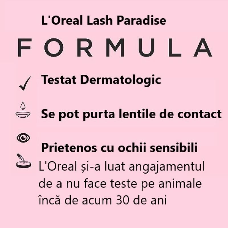 Mascara Voluminous Lash Paradise L'Oreal Rimel