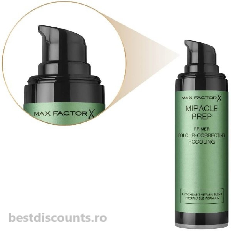 Max Factor Miracle Prep Primer Colour Correcting + Cooling