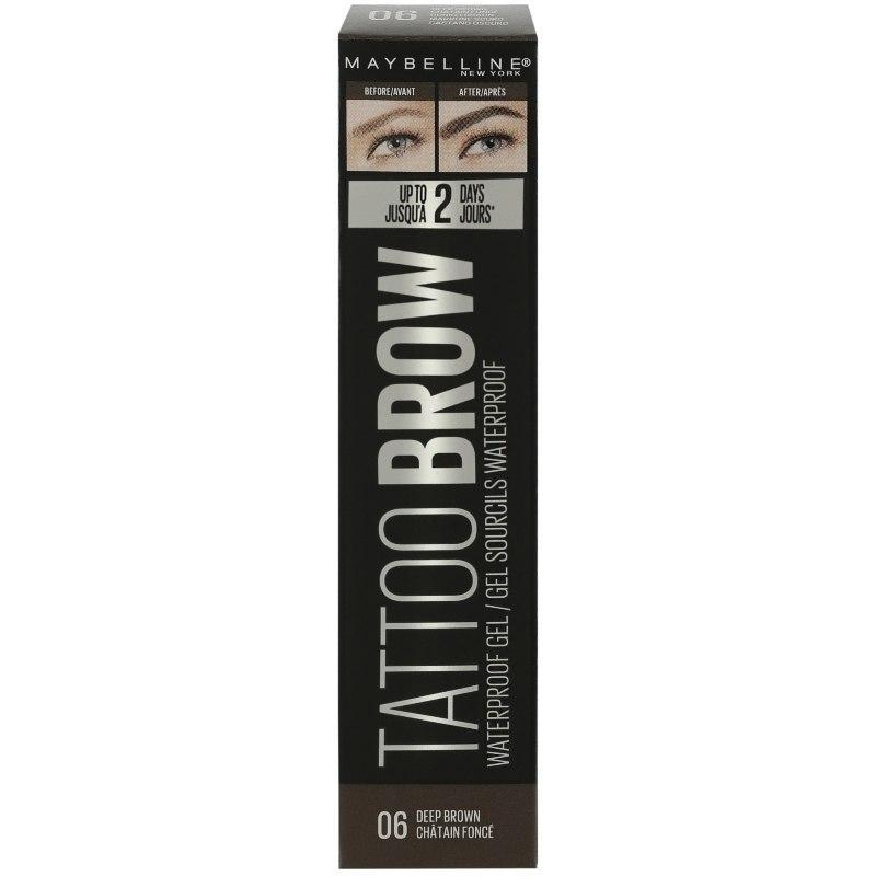 Maybelline Tatto Brow Waterproof Gel 06 Deep Brown