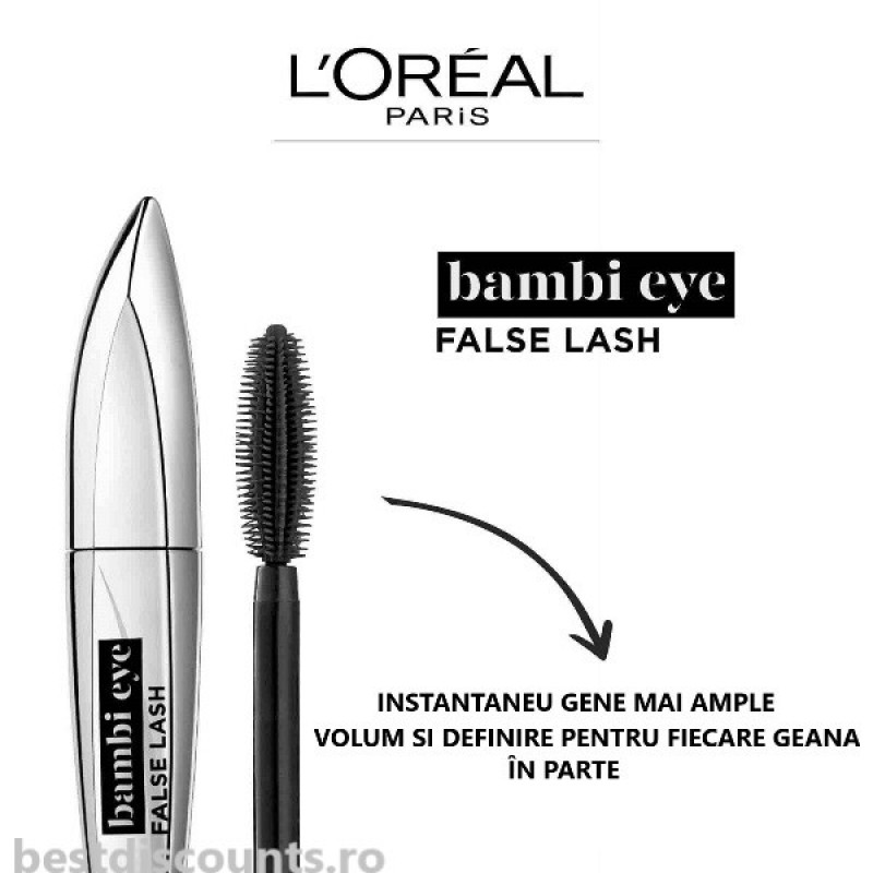 Bambi Eye False Lash Mascara L'Oreal Paris