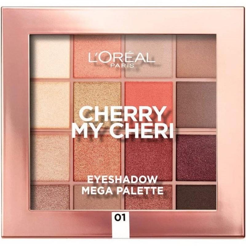 Loreal Cherry my Cheri Paleta Farduri