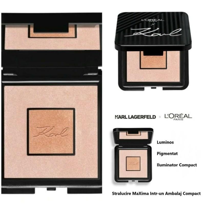 Loreal Iluminator Karl Lagerfeld X Highlighter