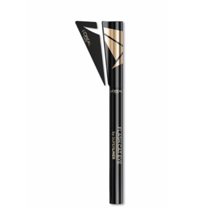 Tus Superliner Flash Cat Eye 01 Black L'Oreal Eyeliner